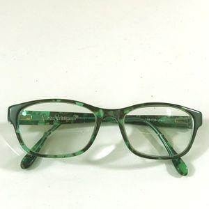 Lilly Pulitzer Alexi glasses frames Tortoise Aqua